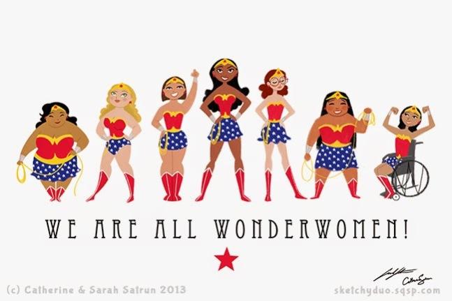 WeAreAllWonderWomen